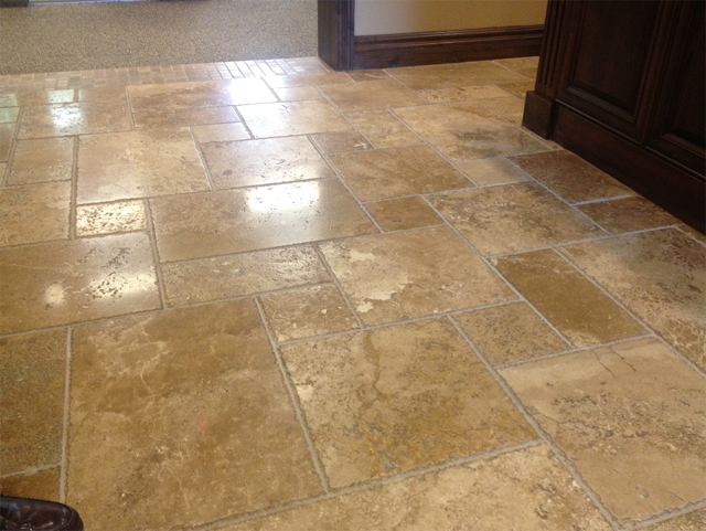 Shine tile floors naturally